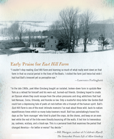 East Hill Farm Dust Jacket Back